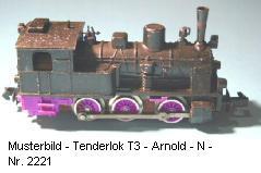 Arnold-Dampflok-T3-Länderbahnlok