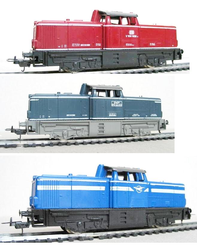 Lima-Diesellok V100