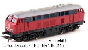Lima-Diesellok BR 216
