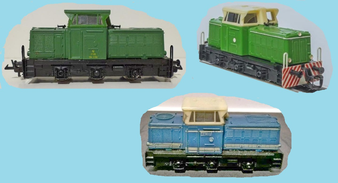 Zeuke Diesellok T334