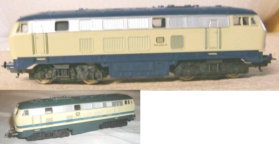 Lima-Diesellok BR 218