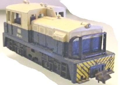 Lima-Diesellok BR 333